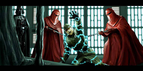 Star Wars Unseen Scenes - Episode 6 by Robert-Shane