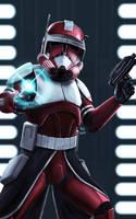 Clone Commander Fox by Robert-Shane