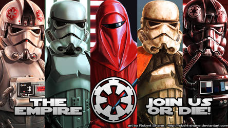 The Empire - Join Us Or Die! by Robert-Shane