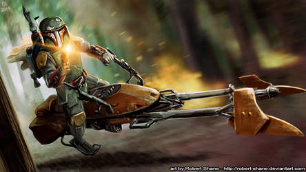 Boba's Bike by Robert-Shane