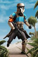 Star Wars - Shore Trooper by Robert-Shane