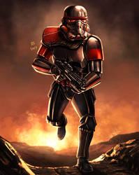 Star Wars - Inferno Squad Trooper by Robert-Shane