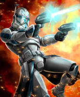 Star Wars - Captain Rex by Robert-Shane