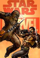 Chewbacca vs Kraven The Hunter by Robert-Shane