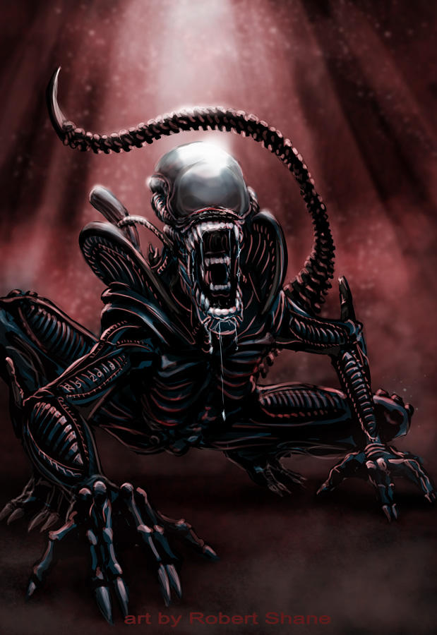 Alien by Robert-Shane