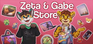 Our Redbubble Store! by Zeta-Haru