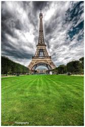 Paris - Eiffel Tower VII by superjuju29
