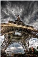 Paris - Eiffel Tower IX by superjuju29