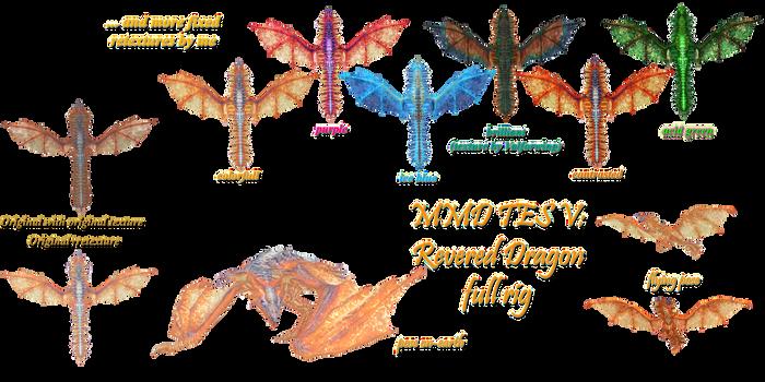 MMD TES V: Revered dragon download by Tokami-Fuko