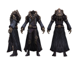 XPS and MMD TERA's Necromancer robe by Tokami-Fuko