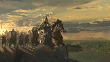Arrival of the Slavs by Sentigon