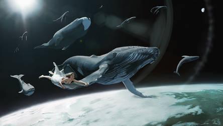 Flying whales by Sentigon