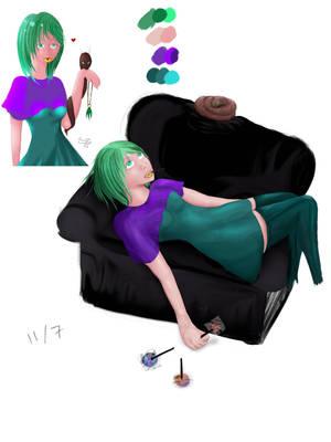 Draw It Again #2 by NikaStryx