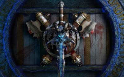 Warcraft Tribute final render by stefanmarius