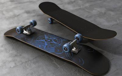 Skateboard by stefanmarius