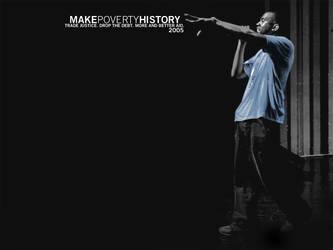 MakePovertyHistory.KanyeWest by blinkuk