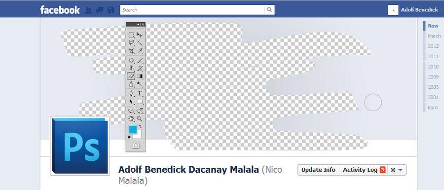photoshop facebook timeline cover by aeidolf