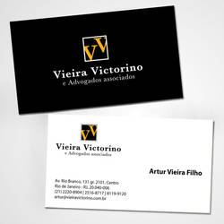 Cartao // Vieira Victorino Advogados Associados by Quislom