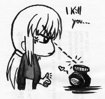 I kill you by GaMu-ChAn