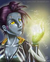 Magic - WOW undead by GaMu-ChAn
