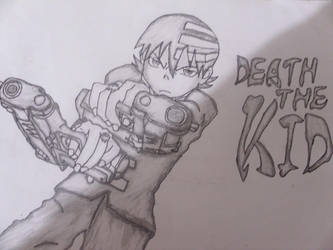 Drawing Death The Kid From Soul Eater By Mysticaldrawer On Deviantart