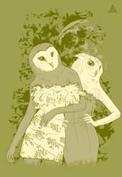 We owl the night by deaddreamer