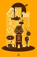 Big City Life by deaddreamer