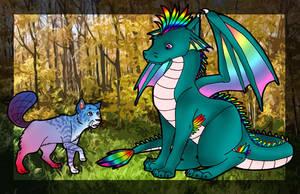 PipPip Makes a Friend XD by Blue-Dragon22