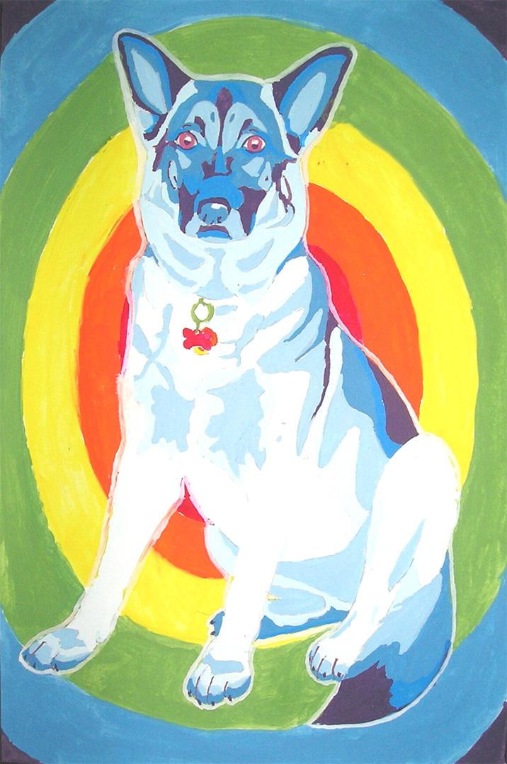 My Amazing Rainbow Dog by Blue-Dragon22