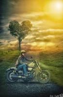 Photoshop Manipulation | Heart Bike by TuriZsolt