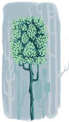 Earle's Tree by sprezzaturan