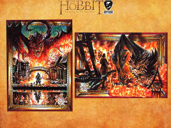 The Hobbit official card set by Kokkinakis-Achilleas