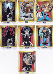 ROGUE ONE official sketch card  set by Kokkinakis-Achilleas