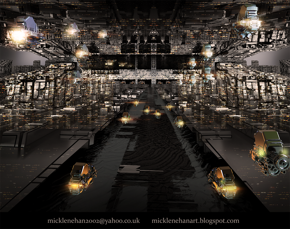 Sci-Fi Traffic by Mick2006