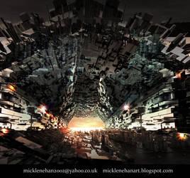 Digital Tunnel by Mick2006
