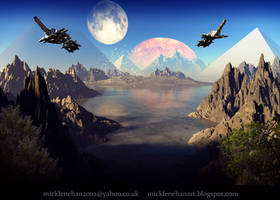 Pyramid Planet by Mick2006