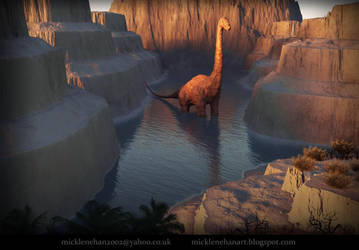 Lost Dinosaur by Mick2006