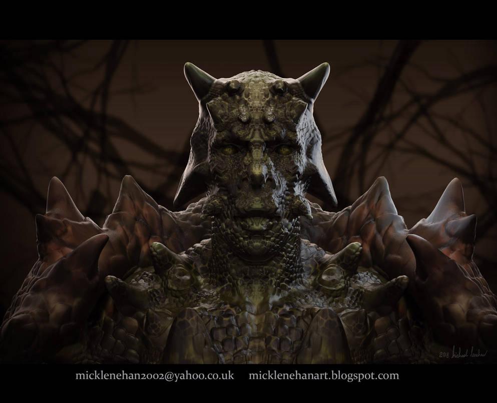 Lizard Man by Mick2006