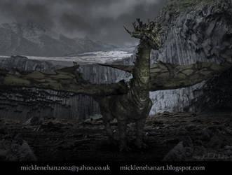 Mountain Dragon by Mick2006