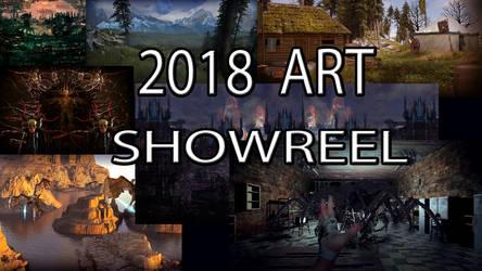 2018 Art Showreel (video in description) by Mick2006
