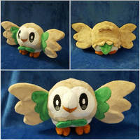 Rowlet Plush by NikkiRiddle