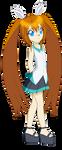 Chibi Reiko Tenshin (Mirai Outfit) by Studio-Mizuki