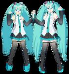 Reiko Tenshin's Cosplay (Hatsune Miku 10th) by Studio-Mizuki