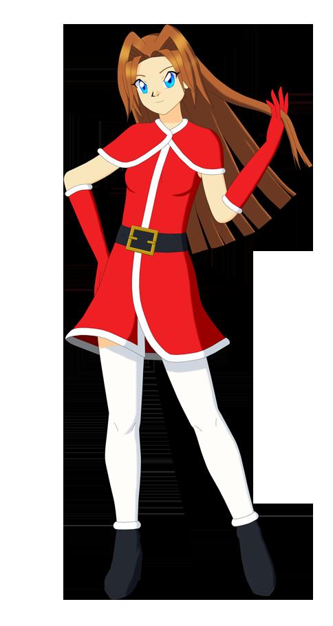 Ai Megami (Holiday Outfit) by Studio-Mizuki