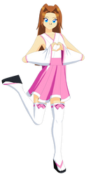 Ai Megami (Valentines version) by Studio-Mizuki