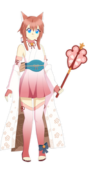 Reiko Tenshin (Halloween Sakura Cosplay) by Studio-Mizuki