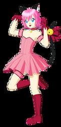 Reiko Tenshin (Mew Ichigo Cosplay) by Studio-Mizuki