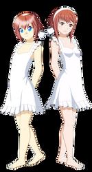Reiko Tenshin X Sakura Summer by Studio-Mizuki