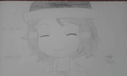 PKMN Serena portrait  by EllyTheTomodachi