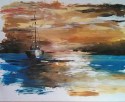 Boat II by dayala0708
